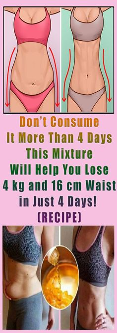This Recipe Will Help You Lose Weight 4kg and 16cm Waist in Just 4 Days#health #beauty #getrid #howto #exercises #workout #skincare #skintag #bellyfat #homeremdieds #herbal