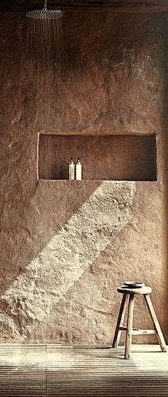 #Bathroomideas #Beachwood's love for texture