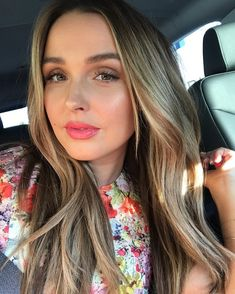 Shameless car selfie on the way to the abc TCAs tonight! :) thank you for my gorg makeup and for always flawless… Ombre Hair Color, Blonde Ombre, Blonde Hair, Hair Colors, Camilla Luddington, Sombre Hair, Luscious Hair, Hair Inspo, Pretty Hairstyles