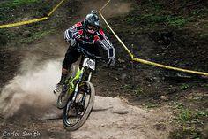 Mountain bike during the Copa de Verano DownHill at Ecoparque El Espino, in El Salvador.     Feel the freedom