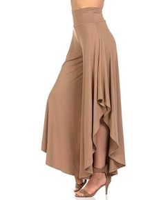 Cheap high waisted pleated pants, Buy Quality wide leg pants directly from China pants femme Suppliers: LASPERAL 2018 Elegant Irregular Ruffles Wide Leg Pants Women High Waist Pleated Pants Femme Casual Loose Streetwear Trousers Loose Pants, Wide Leg Pants, Wide Legs, Fashion Pants, Fashion Dresses, Leggings Fashion, Cheap Fashion, Fashion Fashion, Classy Fashion
