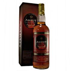 Amrut PX Sherry Cask finished Pedro Ximenez Indian Single Malt Whisky available to buy online at specialist whisky shop whiskys.co.uk Stamford Bridge York