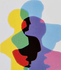 Johannes Itten - A catalogue cover presenting the works of kunstgewerbeschule zürich students. Art Bauhaus, Bauhaus Design, Art Inspo, Johannes Itten, Pop Art, Art Et Illustration, Grafik Design, Color Theory, Light Art
