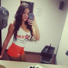 #TBT I miss my long dark hair & the free food I would get from Hoots
