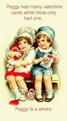 vintage funny Valentine