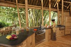 The Green Village in Bali, designed by Ibuku, continues to grow, showing impeccable craftsmanship and visual versatility of bamboo. Bamboo Building, Natural Building, Green Building, Bamboo Architecture, Sustainable Architecture, Architecture Interiors, Architecture Design, Design Case, Diy Design