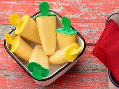 Frozen Creamy Orange Pop recipe from Food Network Kitchen via Food Network