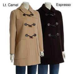 camel hair duffel coat