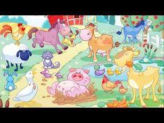 The farm animals / Os animais da quinta - YouTube