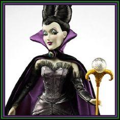 Disney-Store-Limited-Edition-Villains-Evil-Fairy-Designer-Maleficent-Doll-LE-NIB