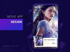 - Movie Application -animation Hi there beautiful people! This is the of UI I've got some cool staff for you today - this colorful and high quality page about movie app with music! Let me know what you think abo. Website Design Layout, Web Design, Amazing Websites, Ui Animation, Application Design, Mobile App Design, Website Design Inspiration, Kit, Interactive Design