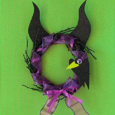 Maleficent-halloweenkrans