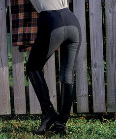 This Black Versailles Mid-Rise Tights - Women is perfect! #zulilyfinds