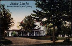 Sanatorium Prévost Inc., Cartierville, Montréal, Qué., pavillon principal [image fixe] = Sanatorium Prévost Inc., Cartierville, Montréal, Qué., Main building  