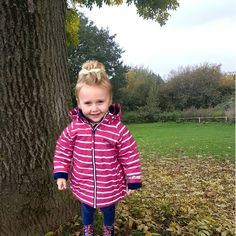 Outdoor fun in the park! Fabulous pink waterproof jacket for whatever the weather. Forest School, Outdoor Play, Winter Jackets, Weather, Park, Happy, Blue, Rain Jacket, Jackets