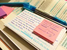 Study Motivation - memorization tips. Studyblr, Study Flashcards, University Life, College Organization, School Study Tips, Study Habits, Study Skills, Study Hard, Study Inspiration