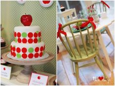 pottery barn kids back to school apple cake