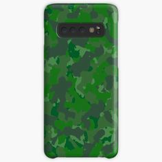 'Green camo design' Case/Skin for Samsung Galaxy by MidnightBrain Camo Designs, Canvas Prints, Art Prints, Design Case, Iphone Wallet, Cell Phone Cases, Duvet Covers, Finding Yourself, My Arts