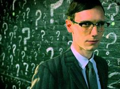 Thought Gotham season 2 was done with the Joker? The series' Riddler teases the return of the iconic villain. Gotham Season 2, Edward Nygma Gotham, Crazy Catch, Return Of The Joker, Cory Michael Smith, Best Riddle, Riddler, Penguins, Fangirl