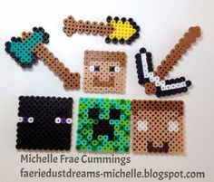 Faerie * Dust * Dreams: Melt-Beads Backpack Charms!