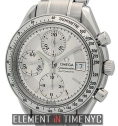 #Omega #Speedmaster Chronograph 40mm iN Stainless Steel With A Silver Dial (3211.30.00)
