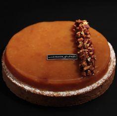 Pomme Tatin au Sirop D'érable | Des Gâteaux et du Pain Isomalt, Tart Recipes, Sweet Recipes, Decoration Patisserie, Pastry Art, Dessert Bread, French Pastries, Great Desserts, Sweet Cakes