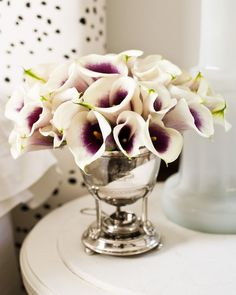 I don't know if I have ever seen Calla Lilies like this??