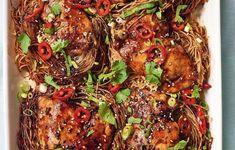 Nadiya Hussain Teriyaki Chicken Noodles Recipe | BBC2 Nadiya Bakes Teriyaki Chicken Noodles, Chicken Noodle Recipes, Terriyaki Beef, Asian Recipes, Ethnic Recipes, Asian Foods, Fish Recipes, Beef Recipes, Chicken
