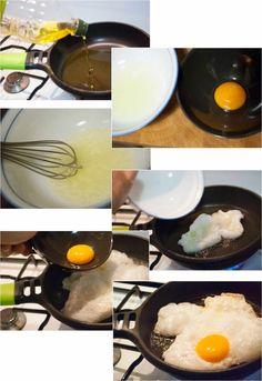 Como hacer huevos fritos perfectos - Cocina para uno en dos metros ...