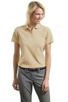 ef720a44 Port Authority Women's Stain Resistant Polo at Amazon Women's Clothing store:  Polo Shirts
