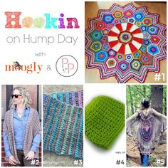 Hookin On Hump Day #137 is up on Moogly - and all the patterns featured in this round are FREE!