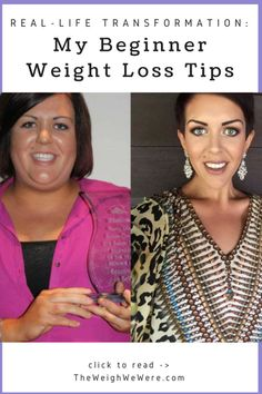 Awesome transformation success story! Before and after fitness motivation and beginner tips from women who hit their weight loss goals and got rid of belly fat with training and meal prep. Learn their workout tips get inspiration! | TheWeighWeWere.com #fitnessmotivation