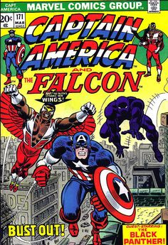 Captain America 171, The Falcon and Black Panther