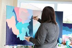 Original abstract artwork made in Mew Zealand Home Studio, Abstract Art, The Originals, Artwork, House Studio, Work Of Art