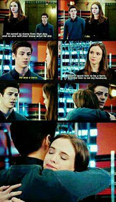 I know that she was talking about her ex but this scene was just.. <3 #snowbarry