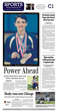 Spring-Ford's Paul Power was named the 2013 All Area Boys Cross Country Player of the Year. http://www.gametimepa.com/mont-bucks/ci_24778225/boys-cross-country-spring-fords-power-is-mercury