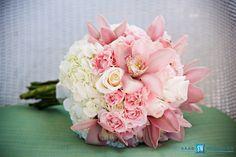 Bridal Bouquet #HalfMoonJamaica #PinknWhite