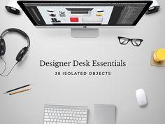 Designer Desk Essentials on Behance