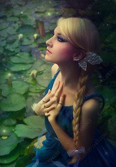 """Firefly Princess""  exclusive image of Maria Amanda    ©Phatpuppyart.com    Facebook  http://facebook.com/phatpuppyartist"