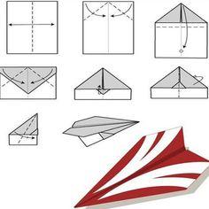 hvordan lage papirfly - Google-søk