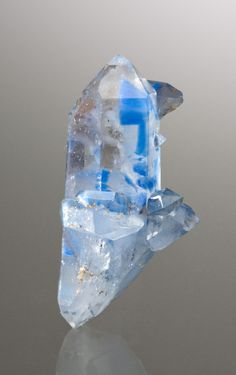 Papagoite included in Quartz from South Africa