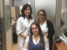 El personal  de LGS en Hospital Santa Cruz