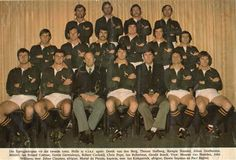 '76 - Second test - The McLook rugby collection It was the pressure that was getting to the Springboks. New Zealand won the pressure battle on three accounts; firstly in the set piece (scrum and lineout); secondly with a better game plan; thirdly, at the breakdowns or tackle area. 14 Aug 76 - South Africa 9 / New Zealand 15