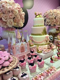 Encontrando Ideias: Festa Minnie Rosa!!