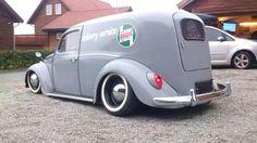 custom beetle delivery wagon
