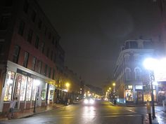 portland, night by conbon33, via Flickr Portland, Times Square, Explore, Night, Travel, Viajes, Traveling, Trips, Tourism