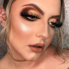 Make por Kamilla Teixeira ❤ Glam Makeup Look, Makeup Looks, Eye Makeup, Professional Makeup, Makeup Inspo, Ash, Honey, Make Up, Diy Crafts