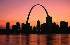 Gateway Arch - St Louis, Missouri   Go to the top of it, a great view.  A wonderful museum under it also.