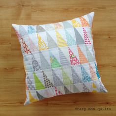 crazy mom quilts: a pretty pile of pillows