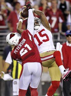 b5e120288ec19a 49ers Cardinals Football - Michael Crabtree